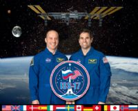 International Space Station Expedition 17 Official Crew Photograph #3